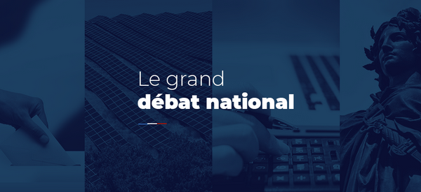 Grand Débat National : réunion d'initiative locale le 4 février à Saumur